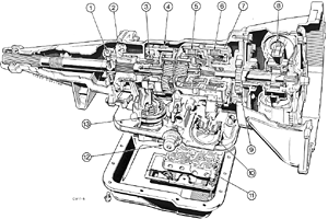Gearboxes on ford 2600 parts diagram