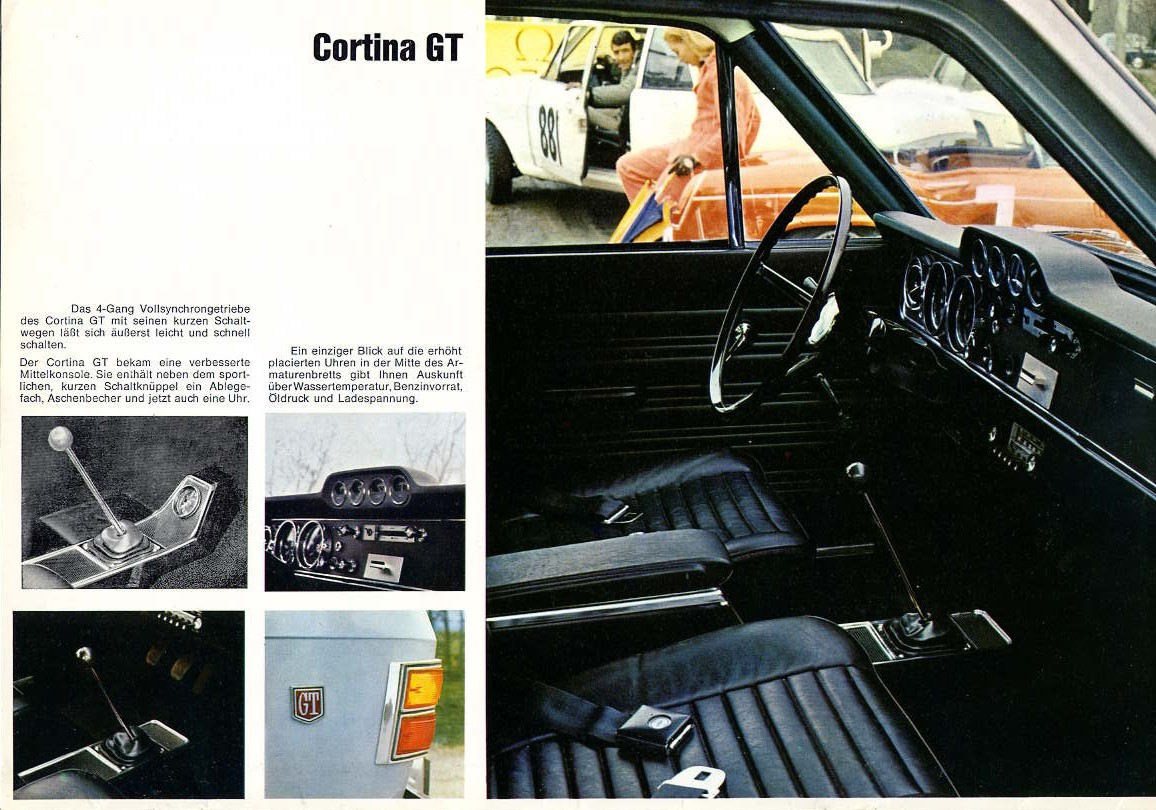 1968 Ford Cortina GT