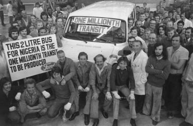 Ford Transit - 1.000.000 sztuk
