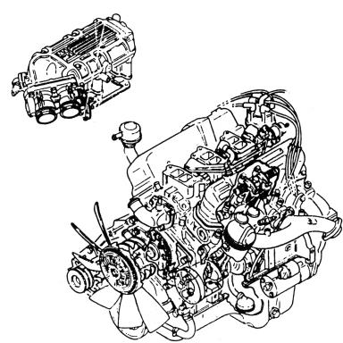 Silnik 2.4/2.9 V6 EFI