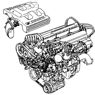 Silnik 2.9 V6 Cosworth 24V