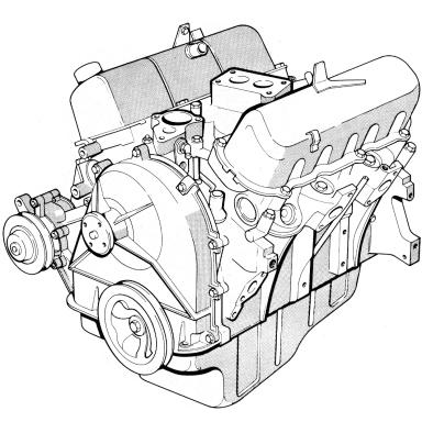 Silnik V6, stary układ chłodzenia