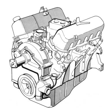 Silnik V6, nowy układ chłodzenia