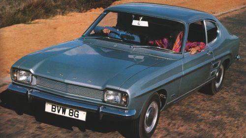 Ford Capri Mk I - przód