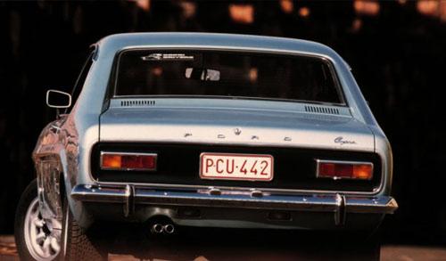 Ford Capri Mk I - tył