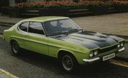 Ford Capri Mk I RS2600 po zmianach