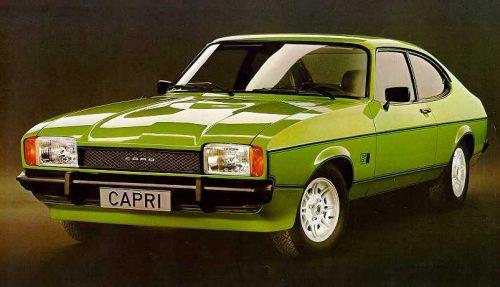 Capri Pl Historia Ford Capri Ii