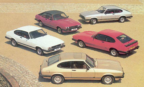 Ford Capri Mk III - różne modele