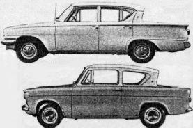 Ford Consul i Ford Anglia