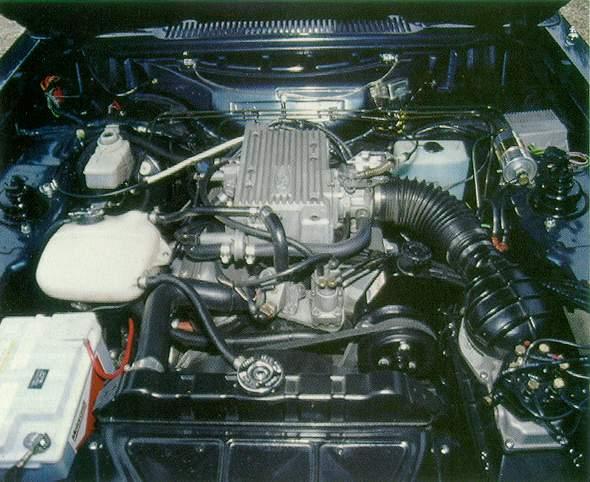 Silnik 2.8i w brytyjskim Capri