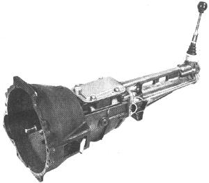 skrzynia biegów Ford typ 3