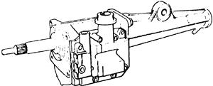 skrzynia biegów Ford typ F (długa dźwignia zmiany biegów)