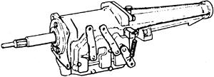 skrzynia biegów Ford typ F