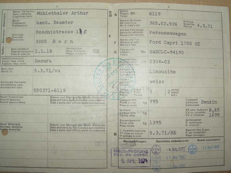 Capri Pl Michalch83 Ford Capri Mk Ia 1 7 V4 Koeln Gt Xl