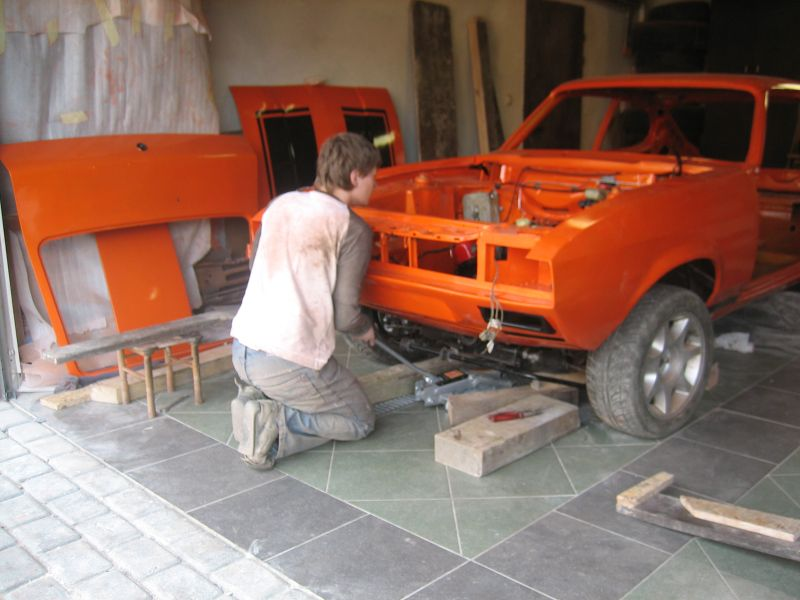 Capri Pl Wołek Ford Capri Mk Iii 3 5 Rv8 Ms Efi Ghia