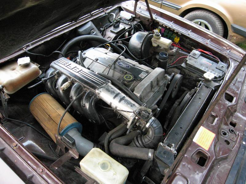 capri.pl: Mysza liil (EM) - Ford Taunus TC II 2.3 R4 DOHC ...